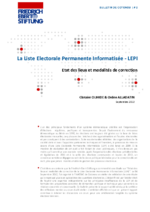 La liste electorale permanente informatisée - LEPI