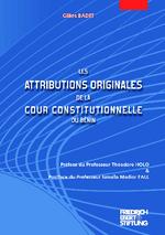 Les attributions originales de la cour constitutionnelle du Bénin