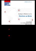 Quelques réflexions sur les elections au Bénin