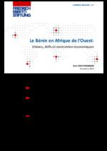 Le Bénin en Afrique de l'Ouest