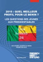 2016: quel meilleur profil pour le Benin?