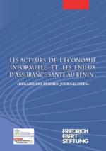 Les acteurs de l'économie informelle et les enjeux d'assurance santé au Bénin